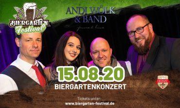 Biergartenkonzert Andi Wölk & Band