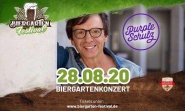 Biergartenkonzert Purple Schulz